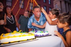 25 Face cake